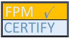 FPM Certify™ Logo