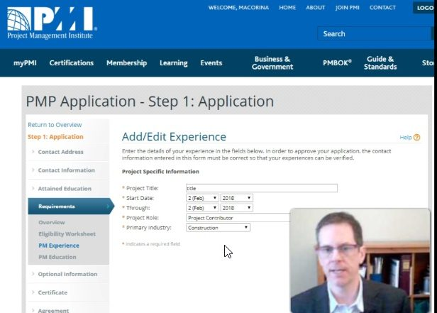 Video Tutorial: How to Fill PMP Application to Avoid Rejection
