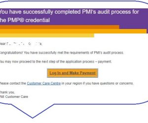 Get your resumé reviewed for the PMP application